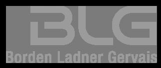 BLG Borden Ladner Gervais Logo